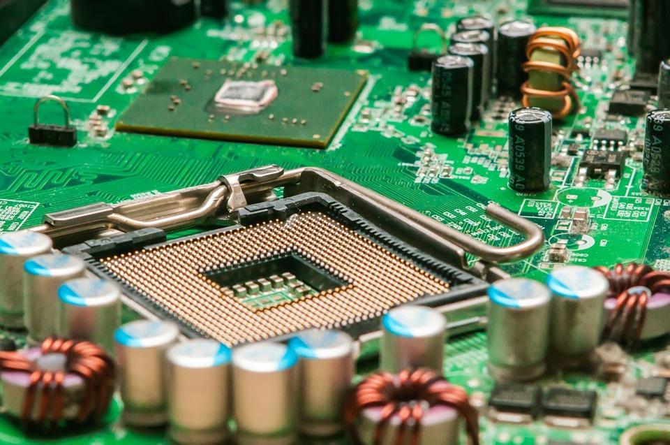 Hardware, moederbord zonder processor
